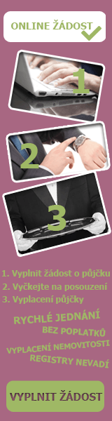Online půjčka bez registru - Rychlá půjčka Bzenec, nabídka půjček Bzenec - Půjčka na OP Jablonec nad Nisou