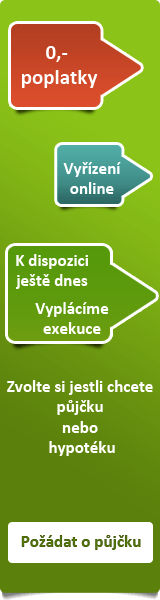 Spolehlivá nebankovní půjčka - Rychlá půjčka Slavonice, nabídka půjček Slavonice - Půjčka na OP Zlín