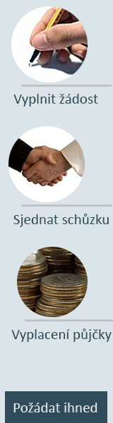 Online půjčka bez registru - Rychlá půjčka Náměšť nad Oslavou, nabídka půjček Náměšť nad Oslavou - Půjčka na OP Chomutov