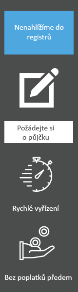 Nebankovní půjčky bez registru - Online půjčka České Budějovice, inzerce půjček České Budějovice - Podnikatelská půjčka Zlín