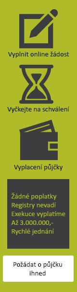 Rychlá nebankovní půjčka pro každého - Online půjčka Tišnov, inzerce půjček Tišnov - Půjčka bez registru Brno