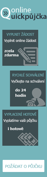 Rychlá online půjčka - Půjčky Olomoucký kraj, nabídka půjček Olomoucký kraj - Nabídka půjčky -