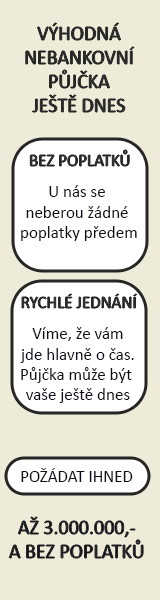 Rychlá nebankovní půjčka bez registru - Online půjčka Židlochovice, inzerce půjček Židlochovice - Půjčka na OP Opava