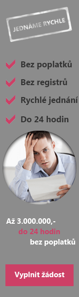 Online půjčka i bez registru - Rychlá půjčka Horní Lideč, nabídka půjček Horní Lideč - SMS půjčka Písek
