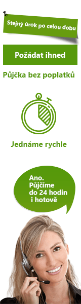 Nebankovní půjčka pro každého - Rychlá půjčka Starý Plzenec, nabídka půjček Starý Plzenec - Půjčka v hotovosti Pardubice