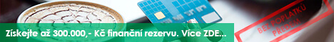 Finanční rezerva ještě dnes - uspornakreditka.cz - Online půjčka Nové Hrady, inzerce půjček Nové Hrady - Půjčka na OP Rakovník