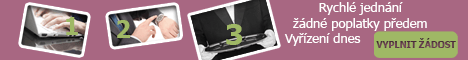 Online půjčka bez registru - Online půjčka Vyšší Brod, inzerce půjček Vyšší Brod - Půjčka v hotovosti Jablonec nad Nisou