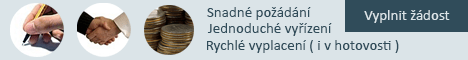 Online půjčka bez registru - Rychlá půjčka Horní Lideč, nabídka půjček Horní Lideč - SMS půjčka České Budějovice
